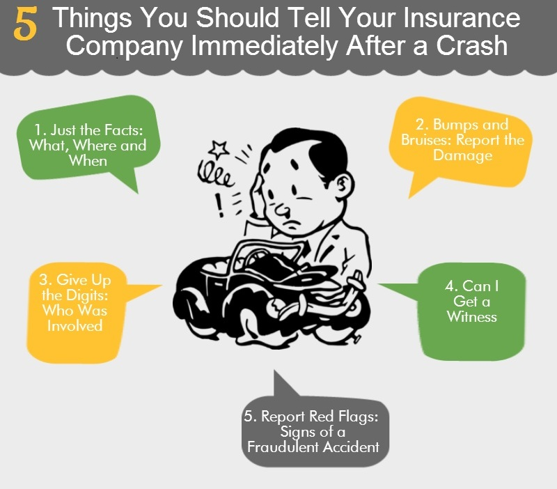 Things to Tell Your Insurance Company